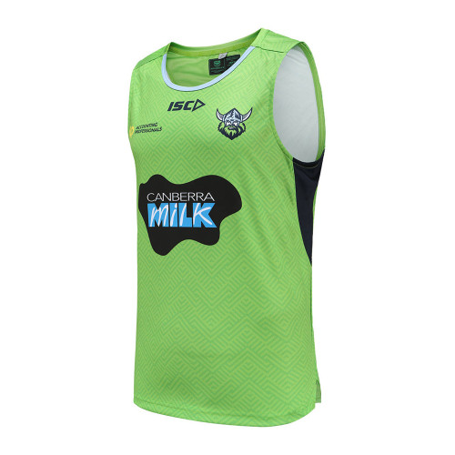 Canberra Raiders 2021 Men's Training Rugby Singlet