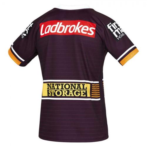 Brisbane Broncos 2021 Men's Home Rugby Jersey