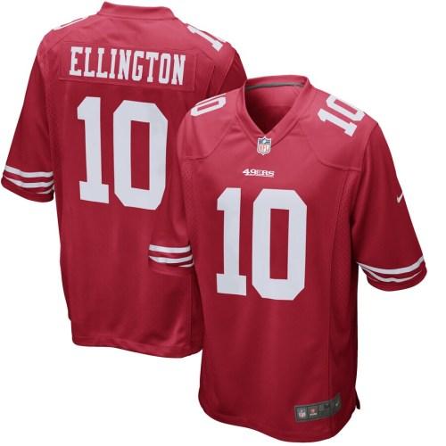 Men's Bruce Ellington Scarlet Player Limited Team Jersey