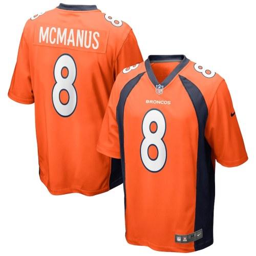 Men's Brandon McManus Orange Player Limited Team Jersey