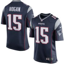 Men's Chris Hogan Navy Player Limited Team Jersey