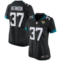 Women's Tre Herndon Black Player Limited Team Jersey