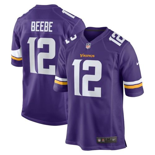 Men's Chad Beebe Purple Player Limited Team Jersey