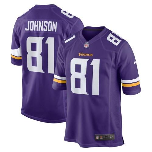 Men's Bisi Johnson Purple Player Limited Team Jersey