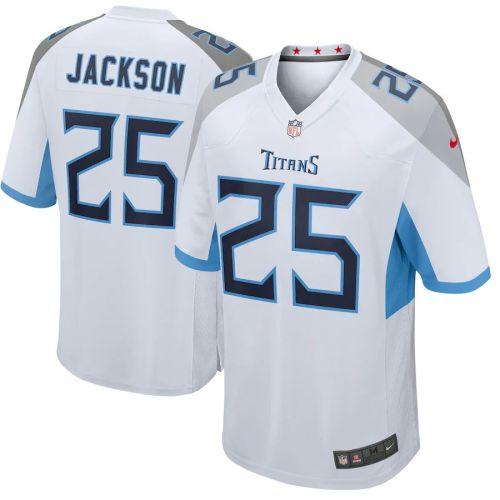 Men's Adoree' Jackson White Player Limited Team Jersey