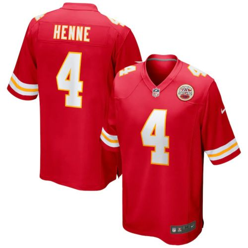 Men's Chad Henne Red Player Limited Team Jersey
