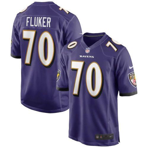 Men's D.J. Fluker Purple Player Limited Team Jersey