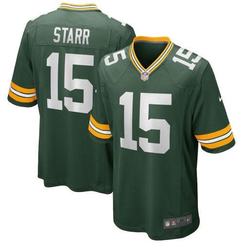 Men's Bart Starr Green Retired Player Limited Team Jersey