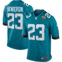 Men's CJ Henderson Teal Player Limited Team Jersey