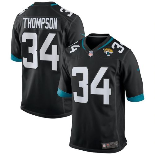 Men's Chris Thompson Black Player Limited Team Jersey
