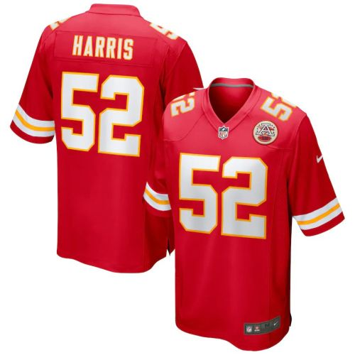 Men's Demone Harris Red Player Limited Team Jersey