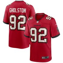 Men's William Gholston Red Player Limited Team Jersey