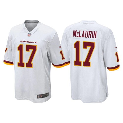 Men's #17 Terry McLaurin White Player Limited Team Jersey