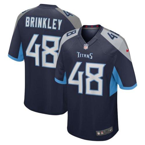 Men's Beau Brinkley Navy Player Limited Team Jersey