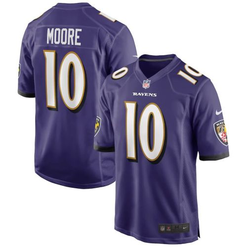 Men's Chris Moore Purple Player Limited Team Jersey
