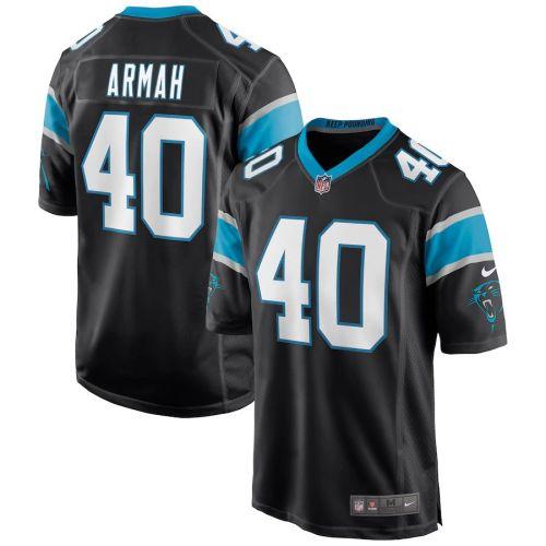 Men's Alex Armah Black Player Limited Team Jersey