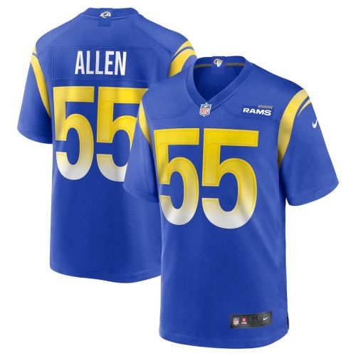 Men's Brian Allen Royal Player Limited Team Jersey