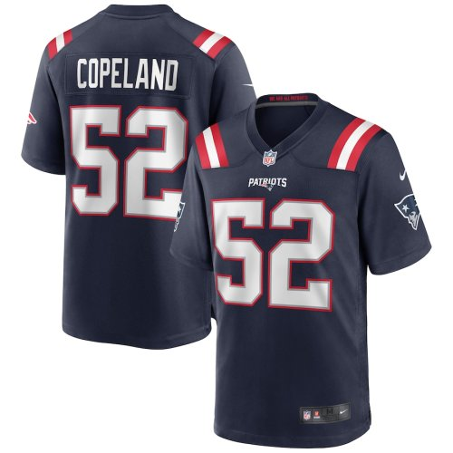 Men's Brandon Copeland Navy Player Limited Team Jersey