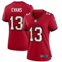 Women's Mike Evans Red Player Limited Team Jersey