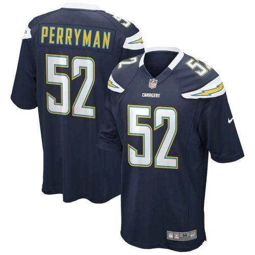 Men's Denzel Perryman Navy Player Limited Team Jersey
