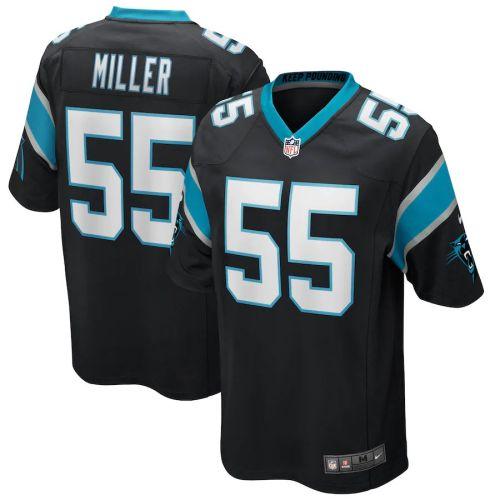 Men's Christian Miller Black Player Limited Team Jersey