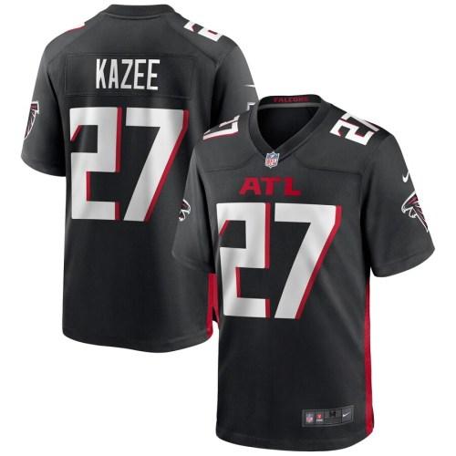 Men's Damontae Kazee Black Player Limited Team Jersey