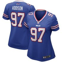 Women's Mario Addison Royal Player Limited Team Jersey