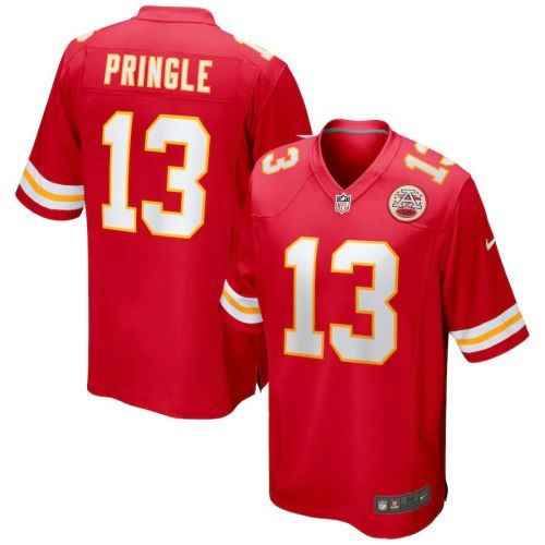 Men's Byron Pringle Red Player Limited Team Jersey