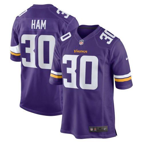 Men's C.J. Ham Purple Player Limited Team Jersey