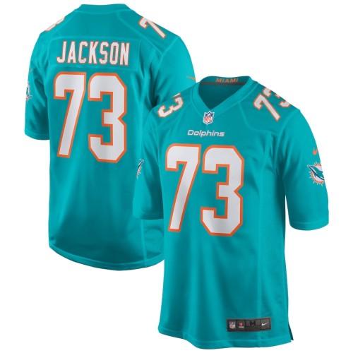 Men's Austin Jackson Aqua 2020 Draft First Round Pick Player Limited Team Jersey