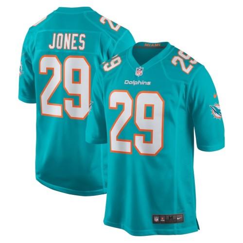 Men's Brandon Jones Aqua Player Limited Team Jersey