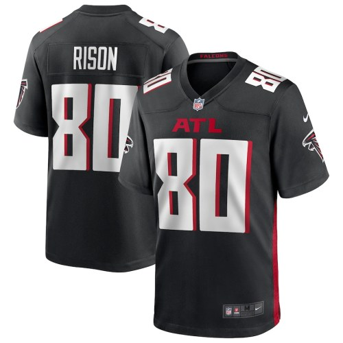 Men's Andre Rison Black Retired Player Limited Team Jersey