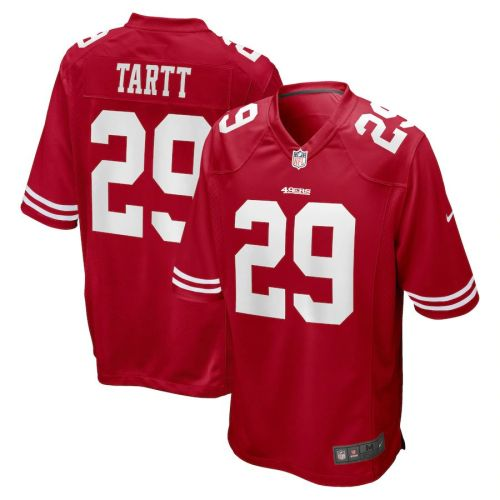 Men's Jaquiski Tartt Scarlet Player Limited Team Jersey