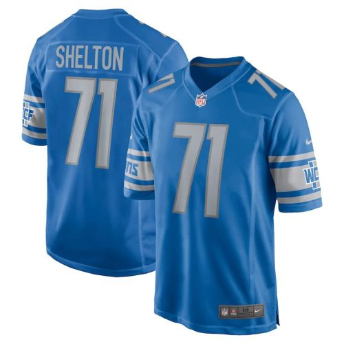 Men's Danny Shelton Blue Player Limited Team Jersey