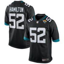 Men's DaVon Hamilton Black Player Limited Team Jersey
