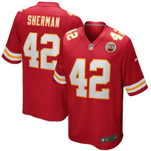 Men's Anthony Sherman Red Player Limited Team Jersey