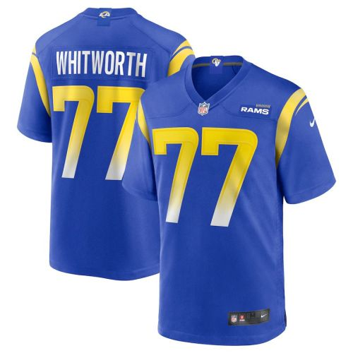 Men's Andrew Whitworth Royal Player Limited Team Jersey