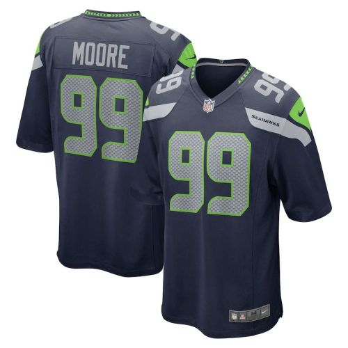 Men's Damontre Moore College Navy Player Limited Team Jersey