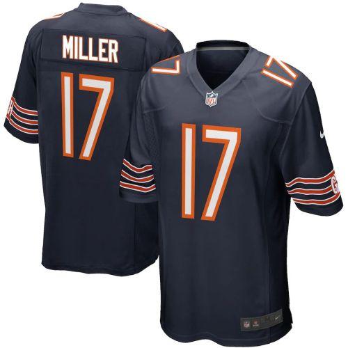Men's Anthony Miller Navy Player Limited Team Jersey