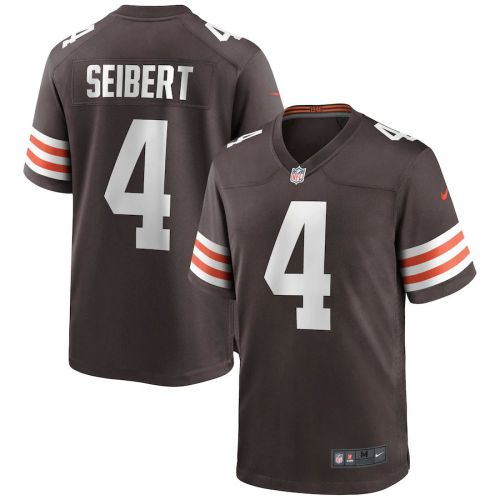 Men's Austin Seibert Brown Player Limited Team Jersey