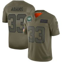 Youth Jamal Adams Olive 2019 Salute to Service Player Limited Team Jersey