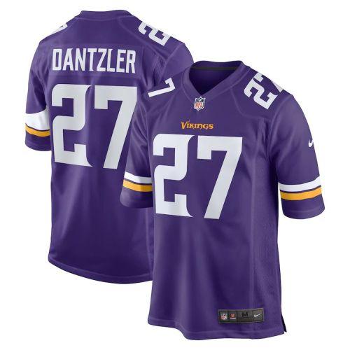 Men's Cameron Dantzler Purple Player Limited Team Jersey