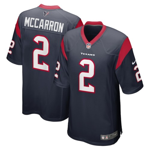 Men's AJ McCarron Navy Player Limited Team Jersey