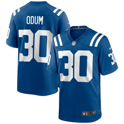 Men's George Odum Royal Player Limited Team Jersey