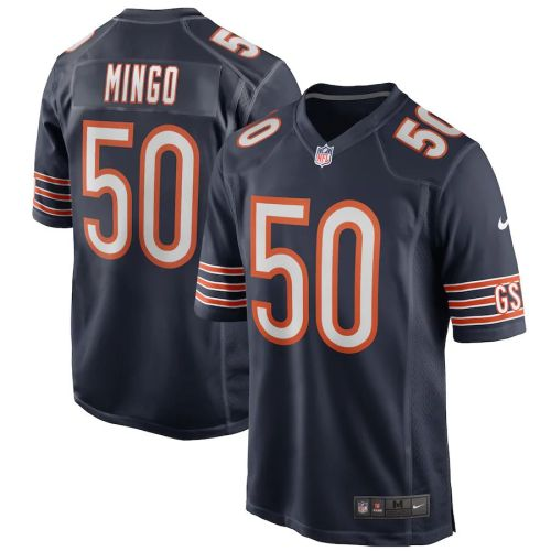 Men's Barkevious Mingo Navy Player Limited Team Jersey