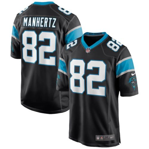 Men's Chris Manhertz Black Player Limited Team Jersey