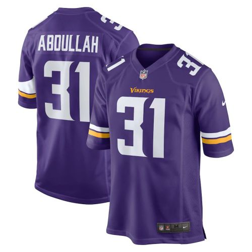 Men's Ameer Abdullah Purple Player Limited Team Jersey