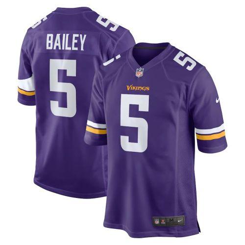 Men's Dan Bailey Purple Player Limited Team Jersey