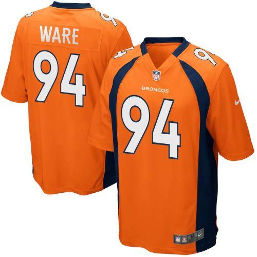 Mens Demarcus Ware Orange Player Limited Team Jersey