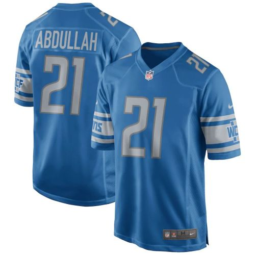 Men's Ameer Abdullah Blue Player Limited Team Jersey
